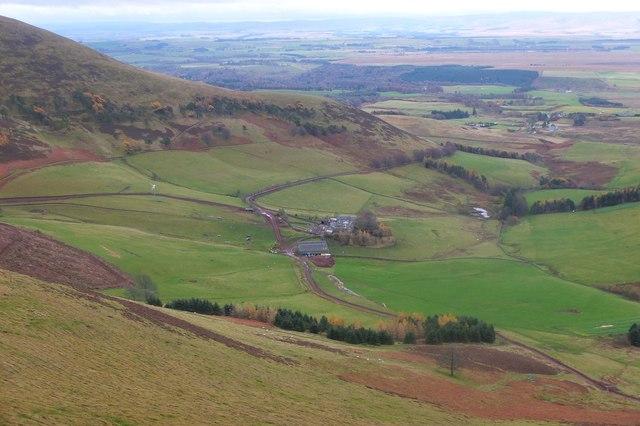 Eastside farm from West Kip