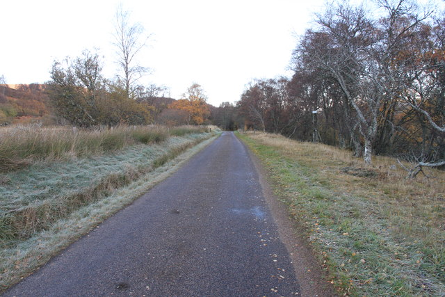 Minor road near Inverlochy