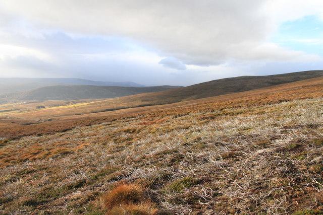 Slopes of Creagan a' Chaise above Glen Lochy