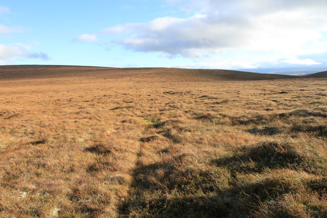 An almost featureless scene on the Hills of Cromdale