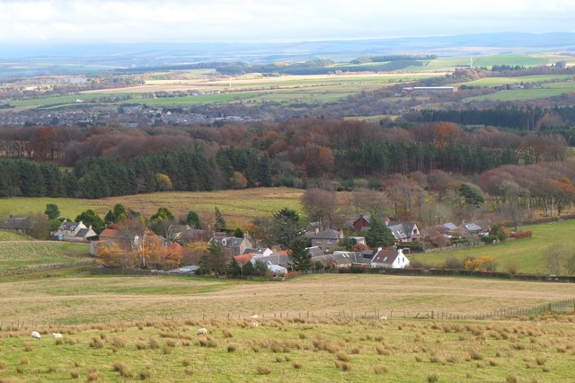 Silverburn from South Black Hill