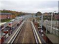 SD6708 : Lostock railway station, Lancashire by Nigel Thompson