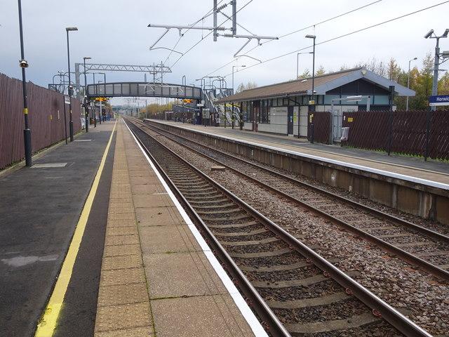 Horwich Parkway railway station, Lancashire