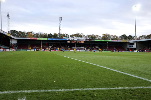 The South Stand at Glanford Park