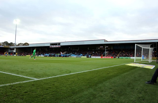 The SPB Stand at Glanford Park