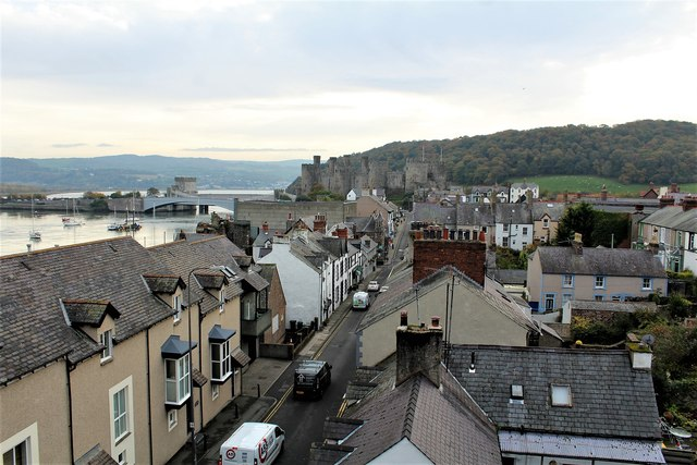 Conwy in the fall