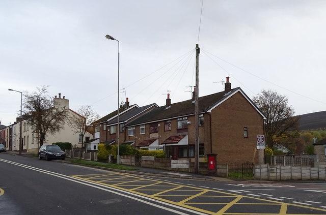 Houses on Huddersfield Road, Stalybridge