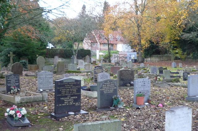 Churchyard at St. Mary's Church (Dilwyn)