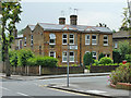 TQ5188 : Houses on corner of Western Road, Romford by Robin Webster