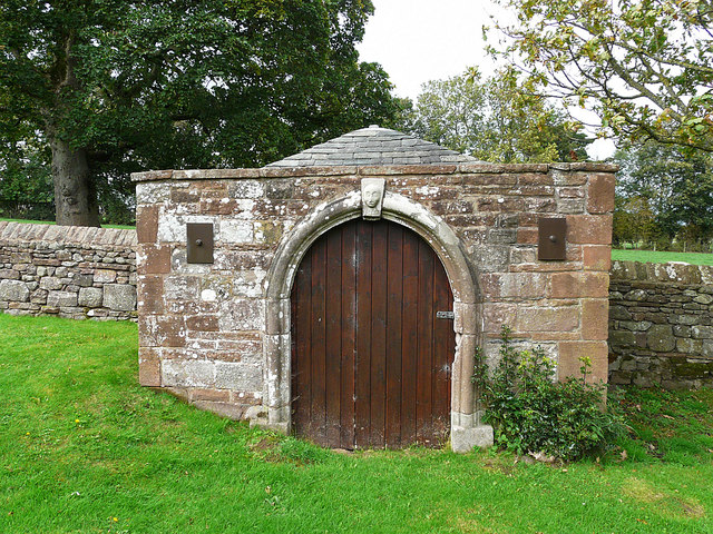 Little old building in St Michael's churchyard