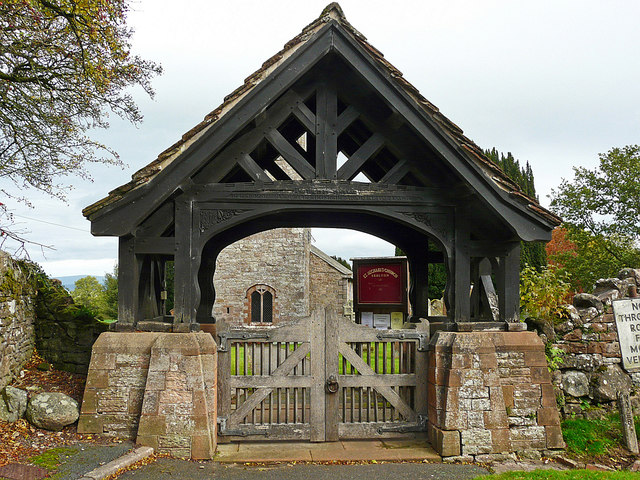 War Memorial Lychgate, Skelton, Cumbria