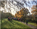 SK2170 : Bakewell parkrun briefing by Graham Hogg