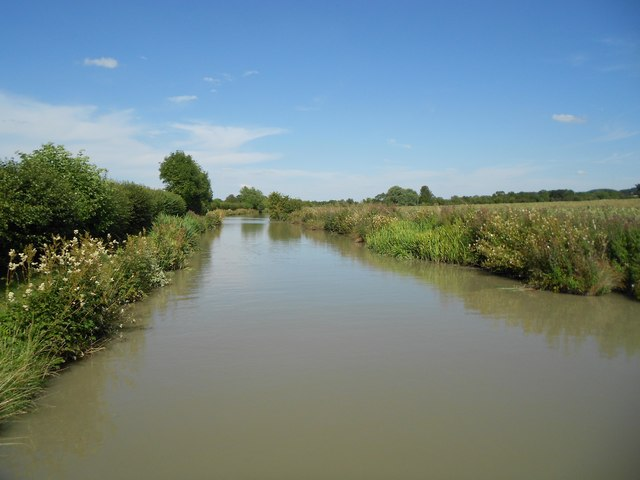 Oxford Canal: Reach near Napton on the Hill