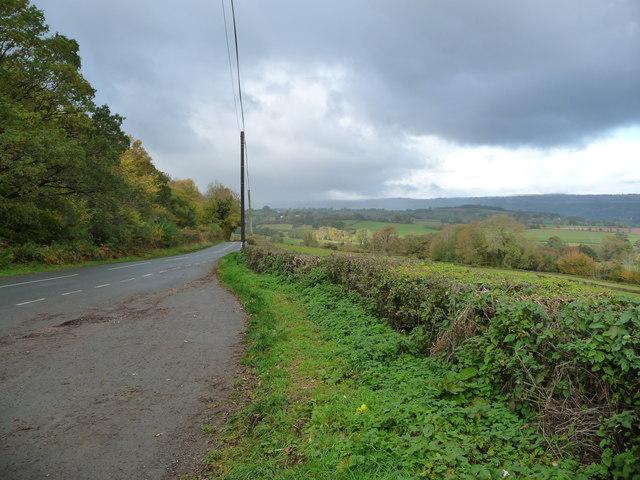 Dark clouds above the B4348