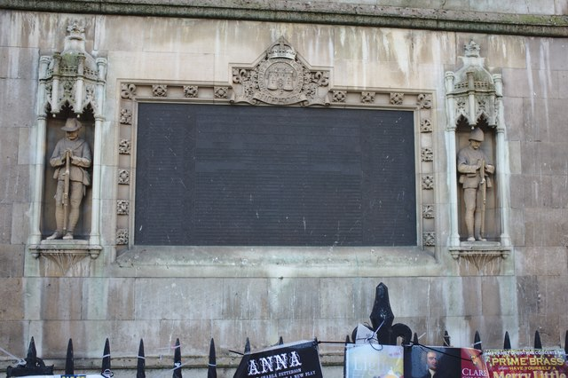 Memorial to another war
