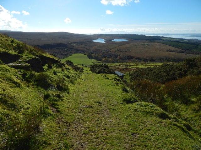 Track to Shielhill