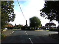 TL8528 : Station Road, Earls Colne by Geographer