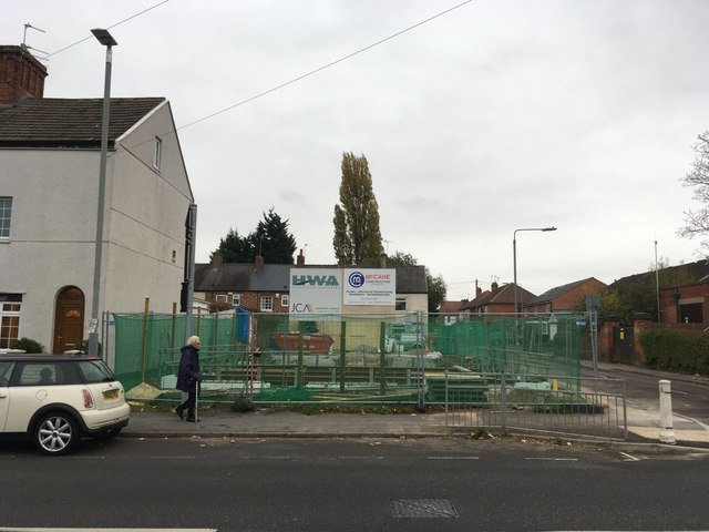 Building site on Wilford Road