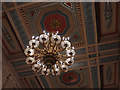 J4075 : Central Chandelier in the Great Hall by Stephen McKay