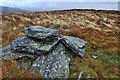 NY3430 : Pile of stones, The Tongue by Mick Garratt