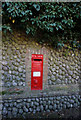 TG1836 : Victoria postbox on Sustead Lane, Sustead by Ian S