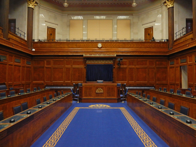 The Assembly Chamber, Parliament Buildings