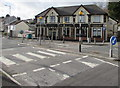 SS6697 : Zebra crossings to the Dukes Arms, Morriston, Swansea by Jaggery