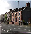 SS6697 : Brick houses and stone houses, Neath Road, Swansea by Jaggery