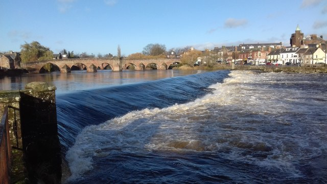 River Nith Dumfries