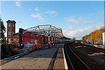 NS4238 : Kilmarnock Railway Station by Ian Rainey