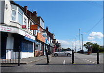 SE2534 : Shops on Stanningley Road in Leeds by Mat Fascione