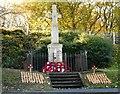 NS5260 : War memorial, Nitshill by Richard Sutcliffe