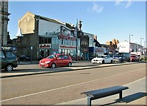 TG5307 : Tourist entertainment on Marine Parade by Evelyn Simak