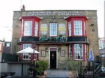 TG5307 : The Barking Smack public house by Evelyn Simak