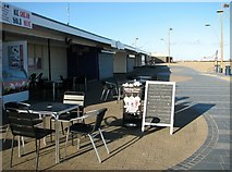 TG5307 : Ice cream parlour and café by The Jetty by Evelyn Simak