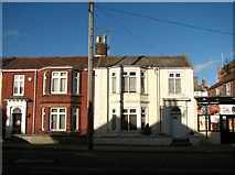 TG5307 : Terraced houses in Lancaster Road by Evelyn Simak