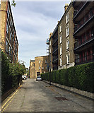 TQ3480 : Brewhouse Lane, Wapping by Robin Stott