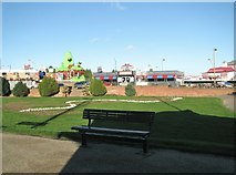 TG5307 : Seat by Anchor Gardens off Marine Parade by Evelyn Simak
