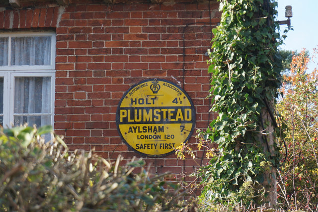 AA Milage Plaque, Church Street, Plumstead
