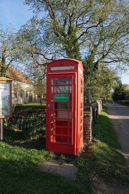 Former telephone kiosk on Church Street, Plumstead