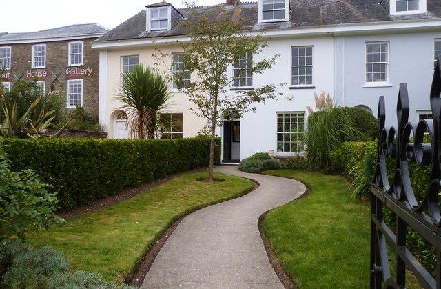 Fine period houses on the Promenade at Kingsbridge,