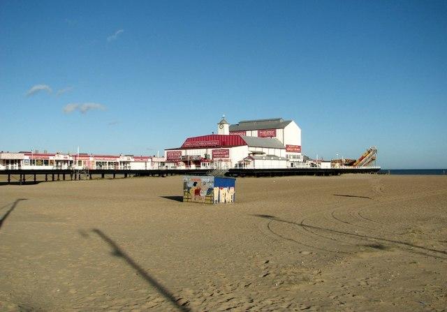 Britannia Pier as seen from the esplanade
