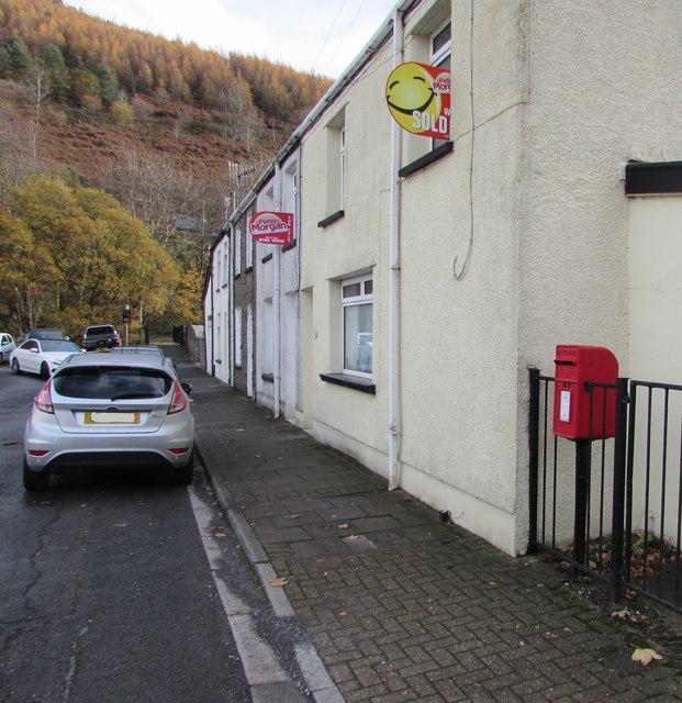 Queen Elizabeth II postbox, Water Street, Ogmore Vale