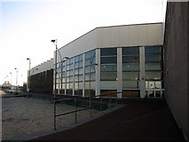 TG5307 : The esplanade skirting the rear of the Marina Centre by Evelyn Simak