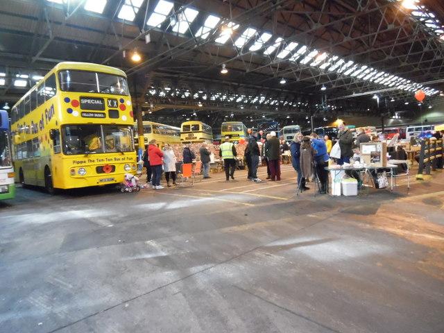 Inside Yardley Wood Bus Garage David Hillas Geograph Britain