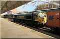 ST3088 : Freightliner diesel-electric locomotive 66544 passing through Newport station by Jaggery