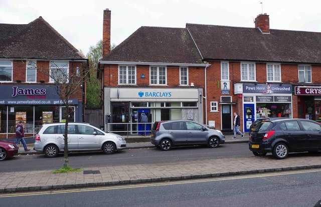 Barclays Bank, 156/158 New Road, Rubery, near Birmingham