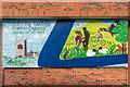 SO5174 : Mural #1, former Budgens, Upper Galdeford by Ian Capper