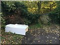 SK5543 : Fly-tipped fridge by David Lally