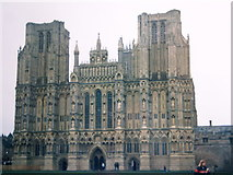 ST5545 : Wells Cathedral by John H Darch